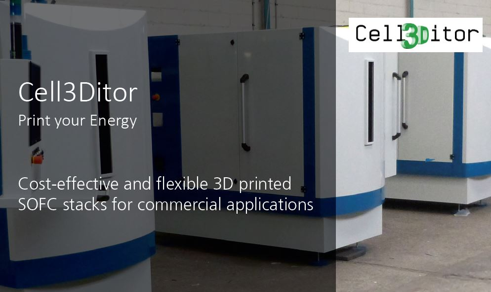 New release at Cell3Ditor Youtube Channel: Video of hybrid multiceramic material 3D printer