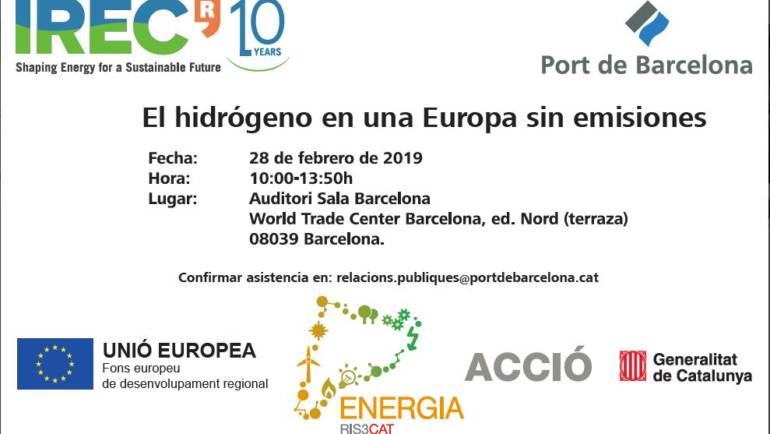Workshop: Hydrogen on a zero-emissions Europe