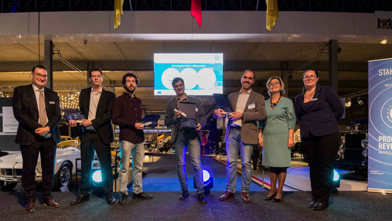 The power of hydrogen: FCH JU awards winners