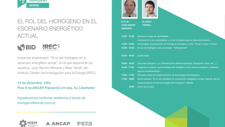 IREC's H2 workshop in Uruguay