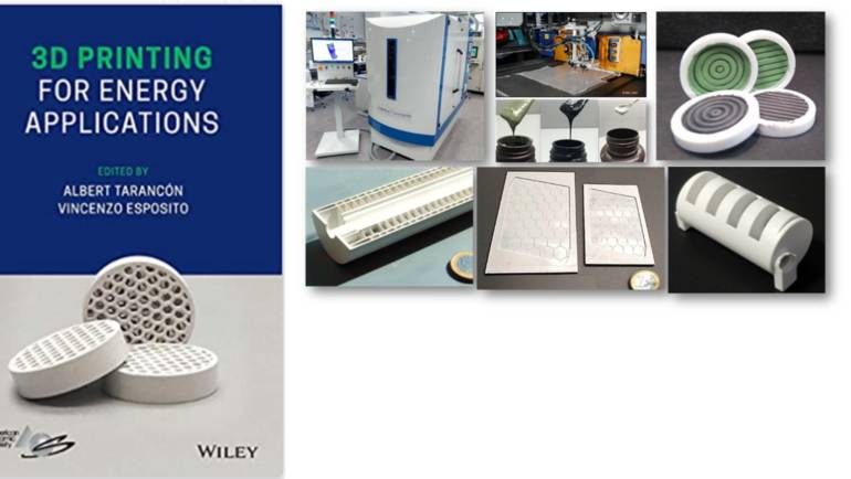 Book Release: 3D printing for Energy Applications